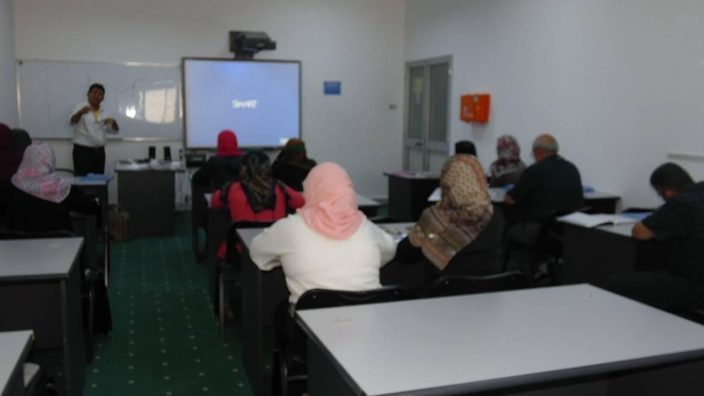 بدء الدورة التدريبية للغة الإنجليزية