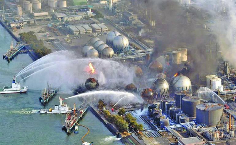 انفجار مفاعل فوكوشيما