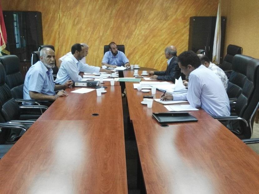 استضافة لجنة شؤون الموظفين بالمركز